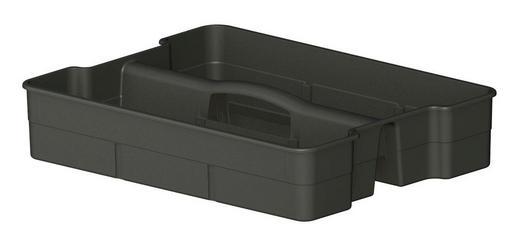 BOX - Anthrazit, KONVENTIONELL, Kunststoff (32,9/25/6,5cm) - Rotho