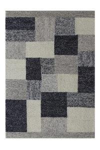 RUČNO TKANI TEPIH - Siva, Prirodno, Tekstil (130/190cm) - Linea Natura
