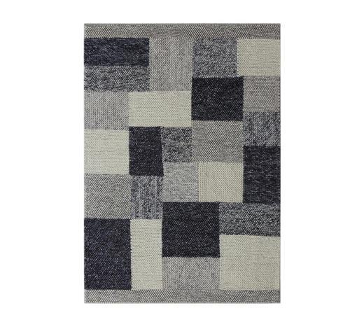 HANDWEBTEPPICH  80/150 cm  Grau   - Grau, LIFESTYLE, Textil (80/150cm) - Linea Natura