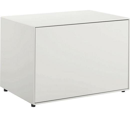 LOWBOARD 64/45/45 cm  - Schwarz/Weiß, Design, Holzwerkstoff (64/45/45cm) - Now by Hülsta