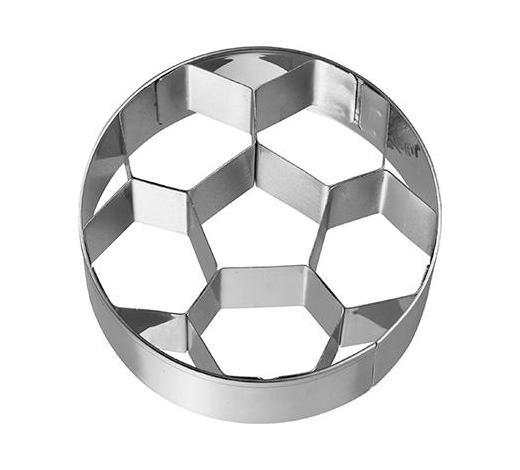 KEKSAUSSTECHFORM - Edelstahlfarben, Basics, Metall (6,5/2,5/6,5cm) - Birkmann