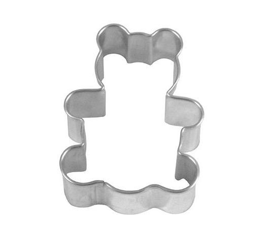 KEKSAUSSTECHFORM - Edelstahlfarben, Basics, Metall (3,9/2,2/5,5cm) - Birkmann