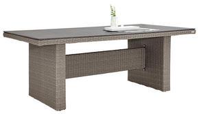 TRÄDGÅRDSBORD - grå, Design, metall/glas (200/74/100cm) - Ambia Garden