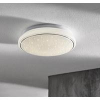 LED-DECKENLEUCHTE - Weiß, Basics, Metall (35/35/10,5cm) - Novel