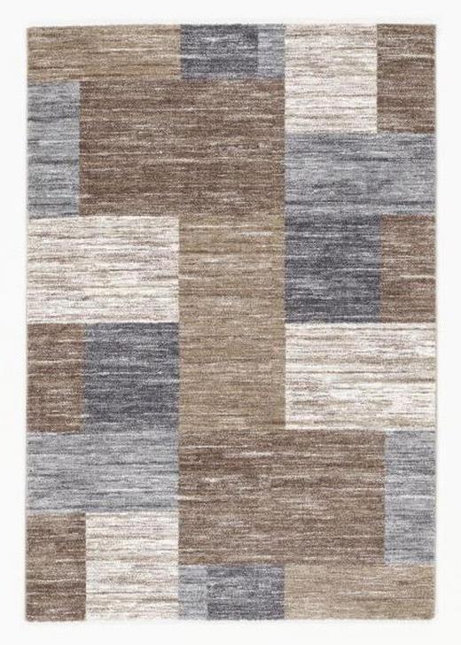 WEBTEPPICH  65/130 cm  Beige, Braun - Beige/Braun, Basics, Textil (65/130cm) - Novel