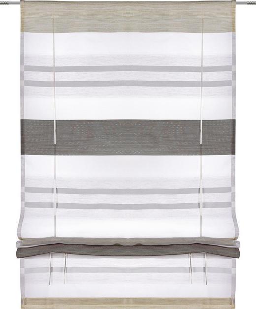 RAFFROLLO  halbtransparent   100/130 cm - Schlammfarben/Beige, Basics, Textil (100/130cm) - Esposa