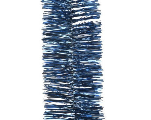 GIRLANDE  Blau - Blau, Basics, Kunststoff (270cm)