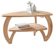 COUCHTISCH in Holz 90/60/50 cm   - Buchefarben, Design, Holz (90/60/50cm) - Linea Natura