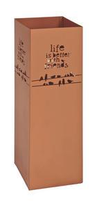 STALAK ZA KIŠOBRANE - boje bakra, Design, metal (16/48/16cm)