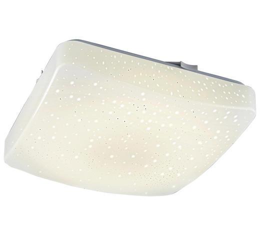 LED-DECKENLEUCHTE - Weiß, Basics, Kunststoff (27/27/6cm) - Boxxx