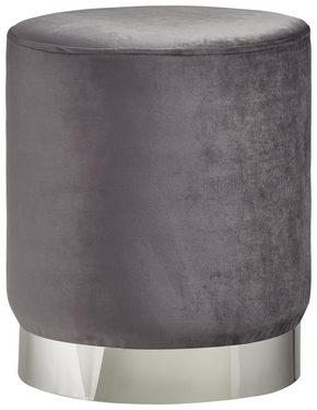 PALL - kromfärg/grå, Trend, metall/träbaserade material (35/40cm) - Xora