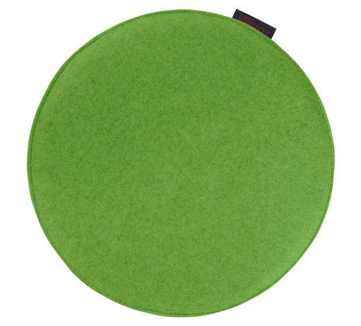 SITZKISSEN Grün 35 cm  - Grün, Basics, Textil (35cm)
