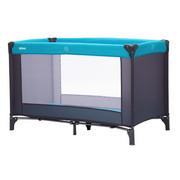 PRENOSNA POSTELJICA 4055-07 - turkizna/siva, tekstil (120/60cm) - Fillikid