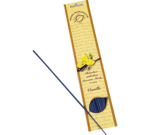 RÄUCHERSTÄBCHEN VANILLE Vanille   - Blau, Basics, Holz (32/6,5/0,5cm)