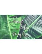 REPRODUKCIJA - zelena/boje aluminija, Lifestyle, drvo/metal (120/70cm) - Monee
