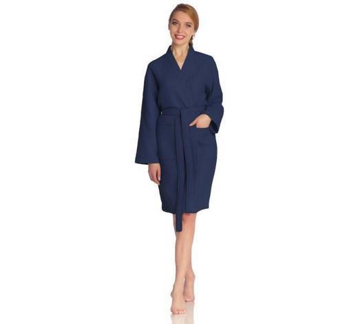 ŽUPAN, L, tmavě modrá - tmavě modrá, Basics, textil (Lnull) - Vossen