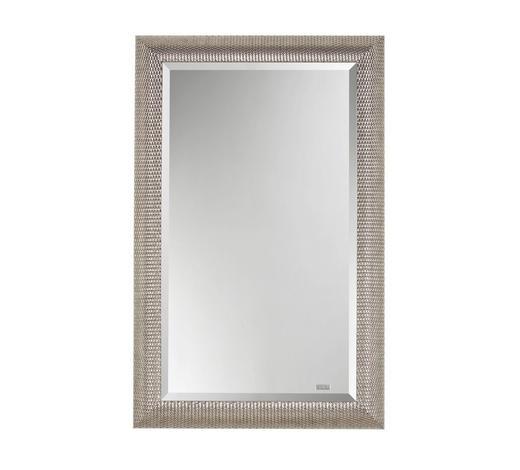 WANDSPIEGEL - Silberfarben, Design, Glas/Holz (70/110/3,5cm)