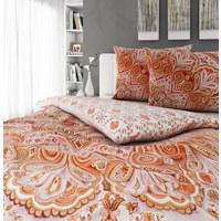 POVLEČENÍ - bílá/oranžová, Konvenční, textil (200/200cm) - Esposa