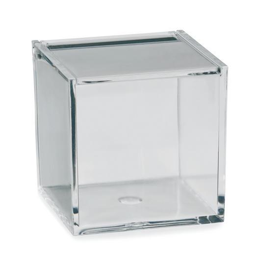 AUFBEWAHRUNGSBOX - Transparent, Basics, Kunststoff (8/8/8cm)