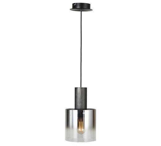 HÄNGELEUCHTE - Klar/Schwarz, Design, Glas/Metall (20/120cm) - Dieter Knoll