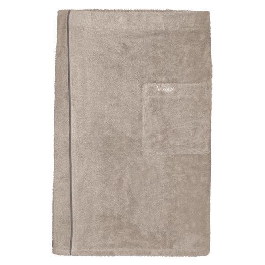SAUNAKILT - Grau, Basics, Textil (60 140 cm) - Vossen