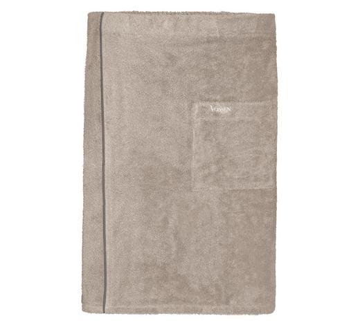 SAUNAKILT  - Grau, Basics, Textil (60/140cm) - Vossen