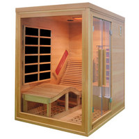 INFRAROTKABINE SwingSpa P1 - Trend, Glas/Holz (130/180/190cm)
