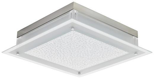 LED-DECKENLEUCHTE - Chromfarben, LIFESTYLE, Metall (45/45/10,3cm)