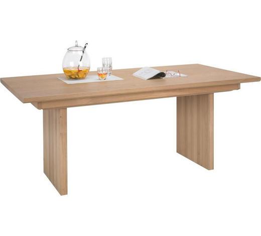 ESSTISCH in Holz 190/100/76 cm   - Eichefarben, Design, Holz (190/100/76cm) - Voglauer