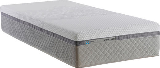 GEL-FEDERKERNMATRATZE 90/200 cm - Weiß, Basics, Textil (90/200cm) - Tempur