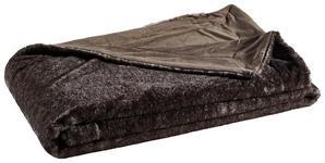 FELLDECKE 150/200 cm Anthrazit - Anthrazit, LIFESTYLE, Textil (150/200cm) - Novel