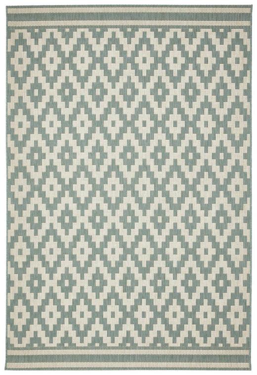 FLACHWEBETEPPICH  160/230 cm  Blau, Creme - Blau/Creme, Trend, Textil (160/230cm)