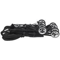 KIŠOBRAN KOLICA - bijela/crna, Basics, tekstil/metal (85/50,5/111cm) - Jimmylee