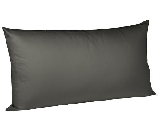 KISSENHÜLLE Anthrazit 40/80 cm - Anthrazit, Basics, Textil (40/80cm) - Fleuresse