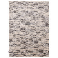 ROČNO TKANA PREPROGA DIAMOND - naravna/siva, Basics, tekstil (65/135cm) - Tom Tailor