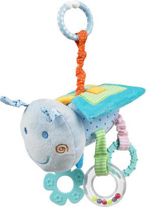LEKSAKSDJUR - multicolor, Basics, textil/plast (15cm) - My Baby Lou
