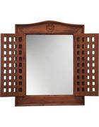 SPIEGEL 50/62/5 cm   - Honig, Trend, Glas/Holz (50/62/5cm) - Ambia Home