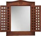 ZRCADLO - med, Trend, dřevo/sklo (50/62/5cm) - Ambia Home