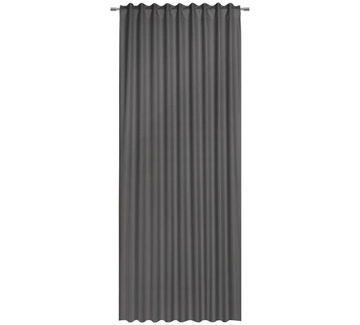 FERTIGVORHANG black-out (lichtundurchlässig) - Grau, Basics, Textil (135/300cm) - Esposa