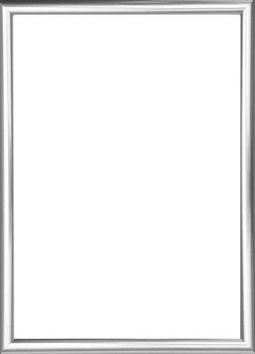 BILDERRAHMEN  Silberfarben - Silberfarben, Basics, Glas/Kunststoff (82/62/2cm)