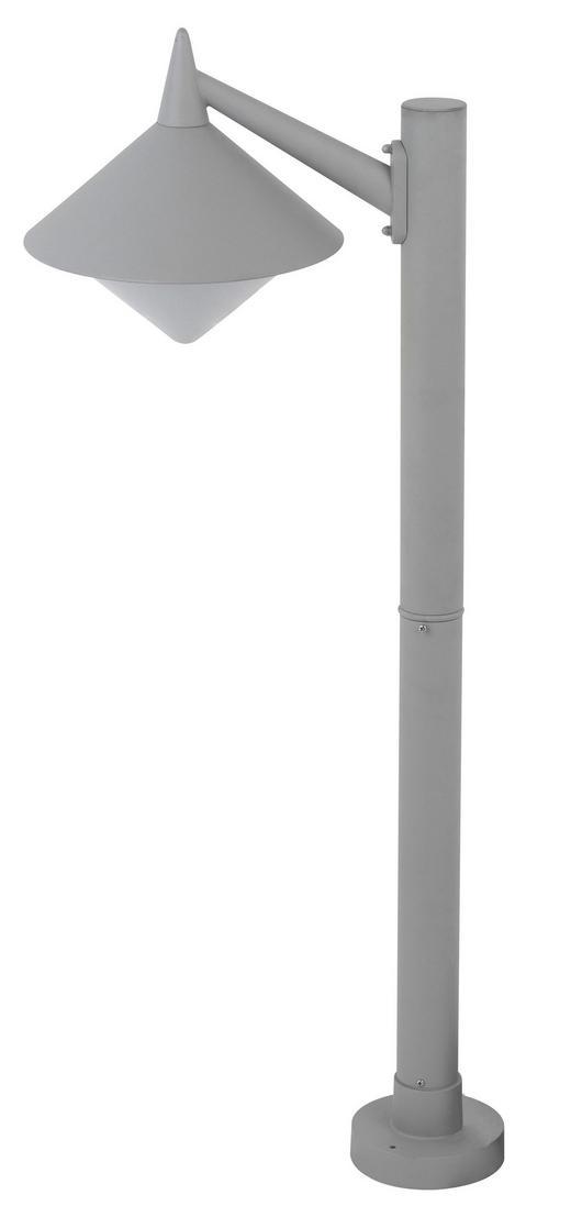 AUßENLEUCHTE - Grau, Basics, Metall (40/95/26cm)