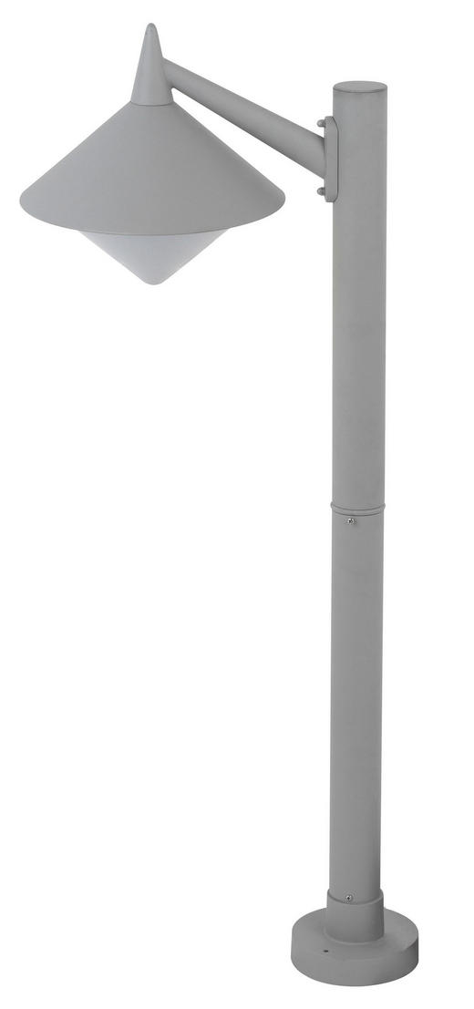 AUßENLEUCHTE - Grau, Design, Metall (40/95/26cm)