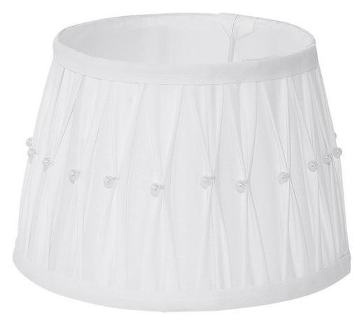 LEUCHTENSCHIRM - Weiß, LIFESTYLE, Textil/Weitere Naturmaterialien (20/13,5cm)