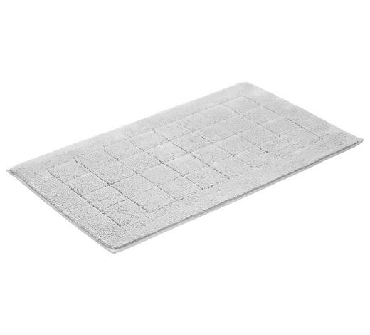 BADEMATTE in Hellgrau 60/100 cm - Hellgrau, Basics, Textil (60/100cm) - Vossen