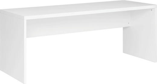 PISAĆI STOL - bijela, Design, drvo (180/75/68cm) - Xora
