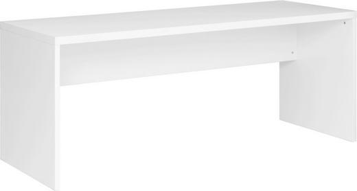 SCHREIBTISCH Weiß - Weiß, Design, Holz (180/75/68cm) - Xora