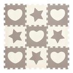 BODENPUZZLE - Weiß/Grau, Basics, Kunststoff (32/32/1cm) - My Baby Lou