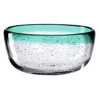 OLIVENSCHALE - Transparent/Grün, Trend, Glas (13/6cm) - Leonardo
