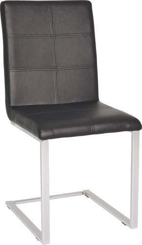 SVIKTSTOL - kromfärg/svart, Design, metall/textil (44/91/52cm) - Carryhome