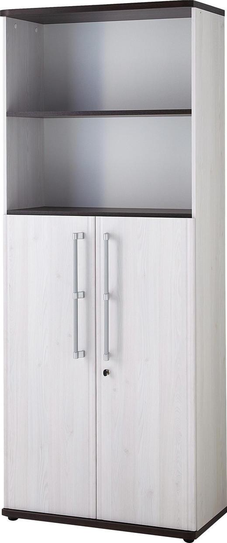 AKTENSCHRANK Eichefarben, Lärchefarben - Eichefarben/Lärchefarben, Design, Holzwerkstoff (80/199/38cm) - Carryhome